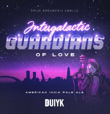 intergalactic guardians of love image den duiyk bier AIPA