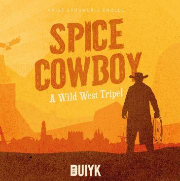 Spice Cowboy wild west Tripel bier den duiyk