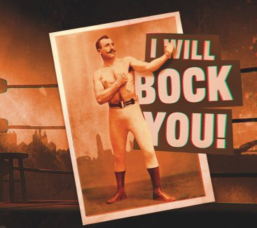 I will bock you