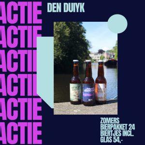 Den Duiyk actie zomerpakket met gratis glas